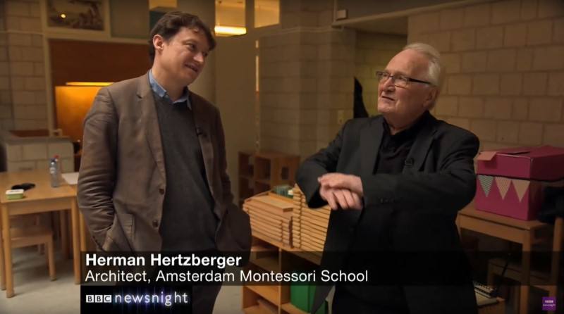 Herman Hertzberger in documentary BBC